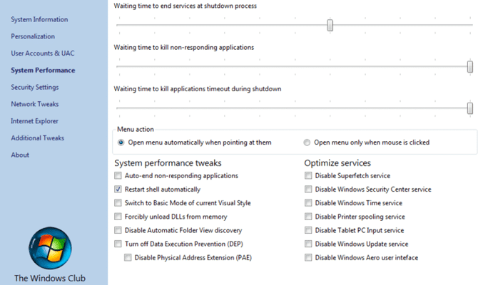 windows 10 customization : Ultimate Windows Tweaker