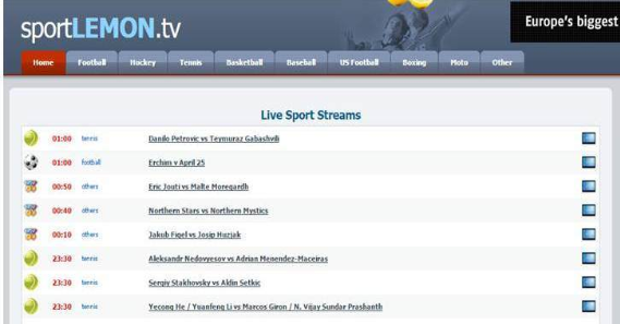best sports streaming online