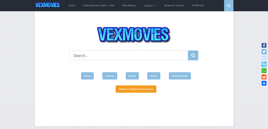 free movie streaming sites - Vexmovies