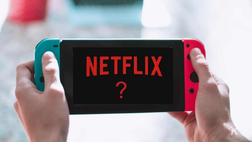 Netflix on Nintendo Switch