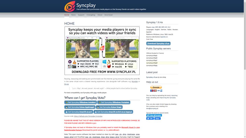 Sync Play