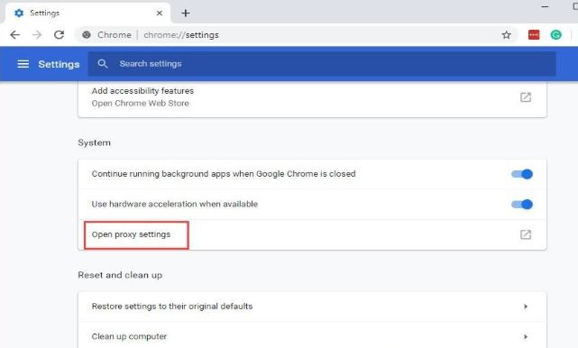 how to access blocked sites in chrome