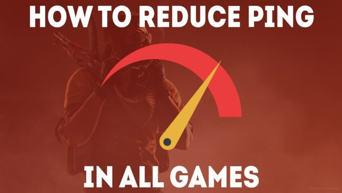 how to reduce ping