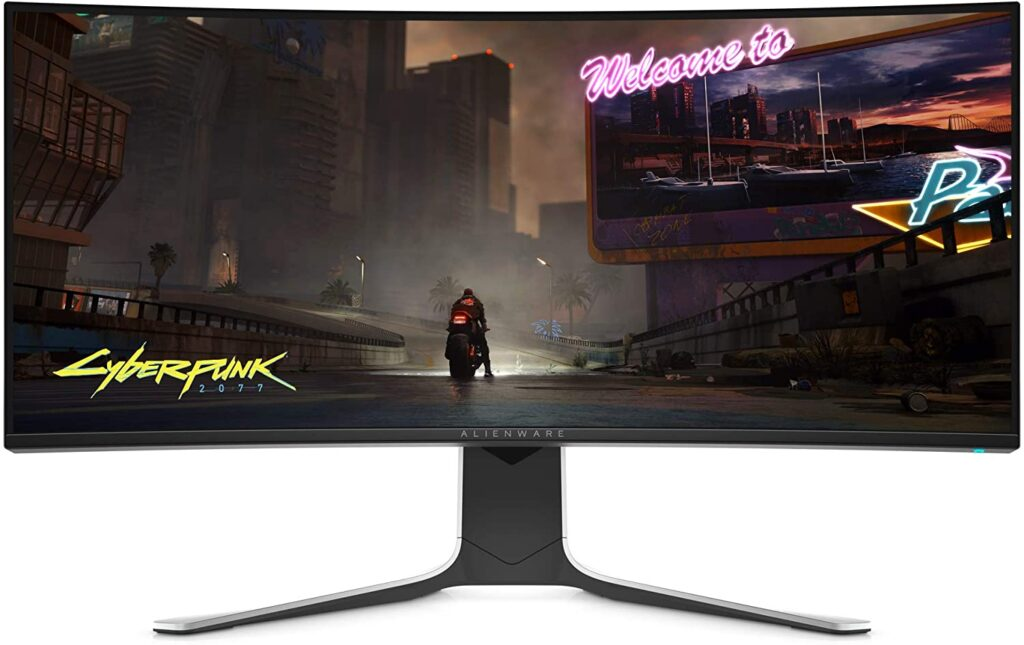 Alienware NEW Curved Ultrawide Gaming Monitor