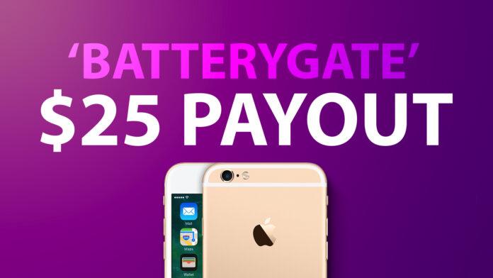 iPhone Batterygate