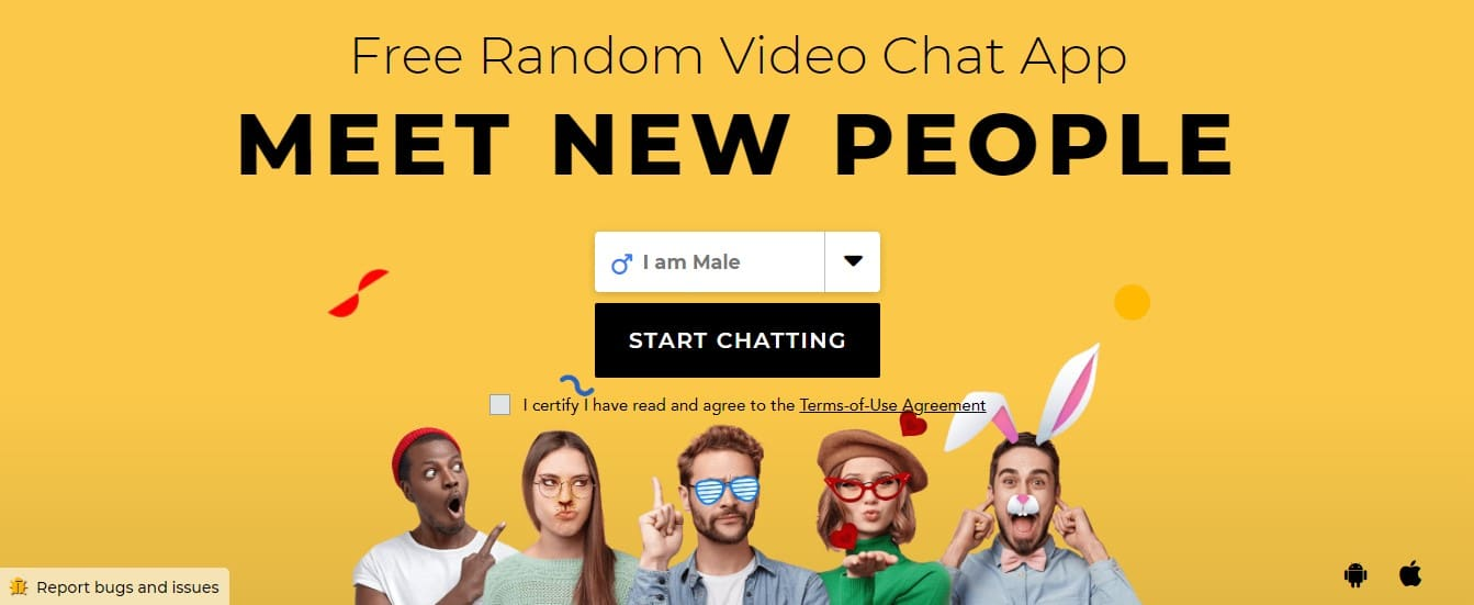 Chatroulette gender select free