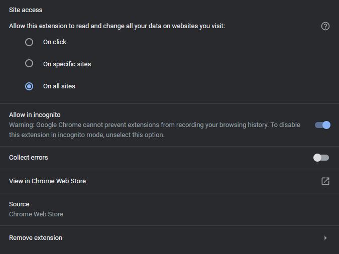 Remove VPN