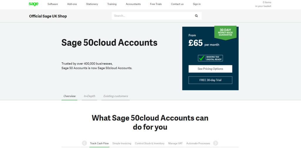 Sage 50 Clouds