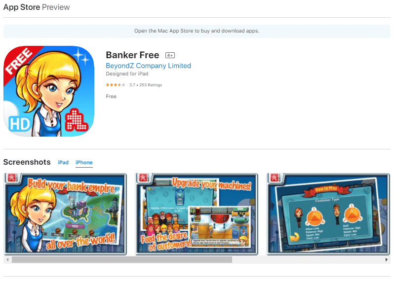 Banker Free