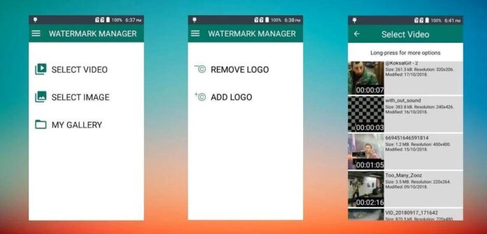 Watermark Remover Apps for android and ios